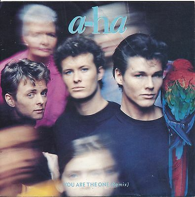 """You  Are The One - A-Ha - Single 7"""" Vinyl 58/18"""
