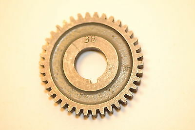"Excellent MYFORD UK CHANGE GEAR WHEEL 38 TOOTH 5/8"" keyed bore ML7 Super 7 LATHE"