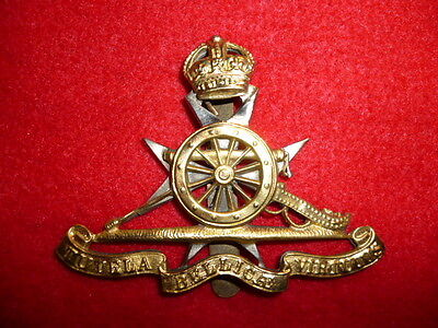 Royal Malta Artillery OR's KC Cap Badge