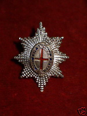 Coldstream Guards Officer's Enamelled Cap Badge