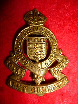 Royal Army Ordnance Corps WW2 KC Cap Badge