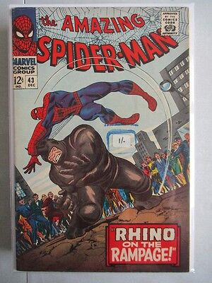 Amazing Spider-Man Vol. 1 (1963-2014) #43 VF+ (Sticker on Front Cover)