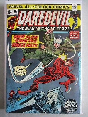 Daredevil Vol. 1 (1964-2011) #116 VF- UK Price Variant
