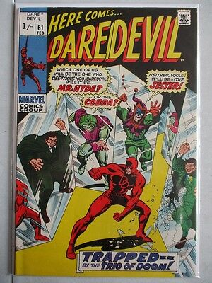 Daredevil Vol. 1 (1964-2011) #61 NM UK Price Variant