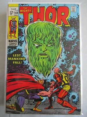 Mighty Thor Vol. 1 (1966-2011) #164 VG HIM Appearance
