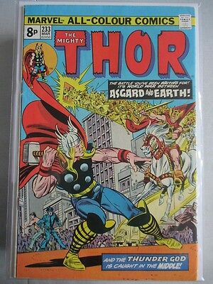 Mighty Thor Vol. 1 (1966-2011) #233 VF- UK Price Variant