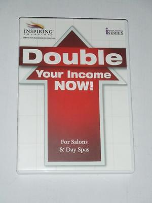 2-CD Program DOUBLE YOUR INCOME NOW For Salons & Day Spas by Inspiring Champions