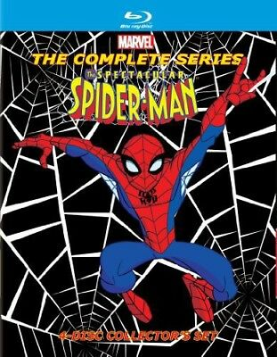 The Spectacular Spider-Man: The Complete First and Second Seasons [New Blu-ray]