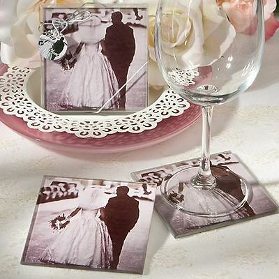 Set of 6 Vintage Wedding & Party Supplies Bag Fillers Photo Coasters Favours