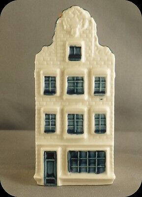 KLM Blue Delft Miniature House Decanter #72 Made for KLM By Bols Dist (Sealed)
