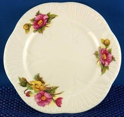 Dainty Shelley Begonia Tea Plate (Four Available)