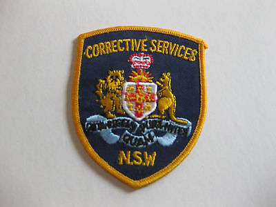 New South Wales Corrective Services  Sew On Patch