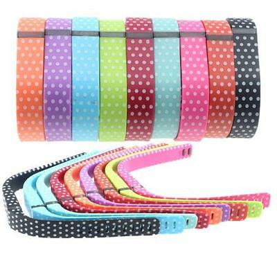 Hellfire Replacement Wristband Bracelet Band Strap Polka Dots for Fitbit Flex