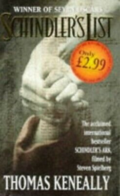 Schindler's List by Keneally, Thomas Paperback Book The Cheap Fast Free Post