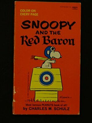Snoopy and the Red Baron (Coronet Books) by Schulz, Charles M. Paperback Book