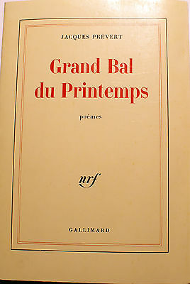 Prevertgrand Bal Du Printempscharmes De Londresnrf1976