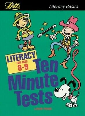 KS2 Ten Minute Tests: Literacy (ages 8-9): Age 8-9 by Fidge, Louis Paperback The