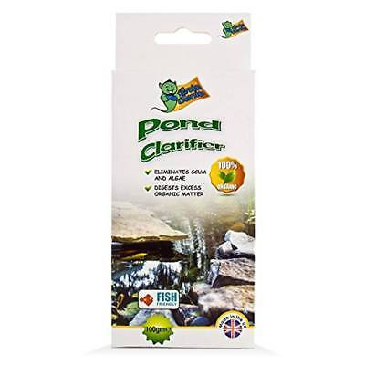 Garden Genie Fish Friendly Pond & Lake Clarifier Eliminates Scum and Algae 100g