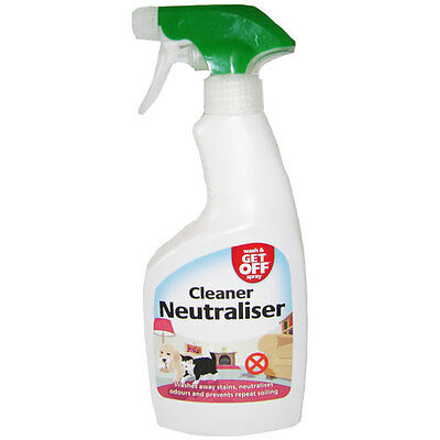 Wash and Get Off Spray Cleaner and Neutraliser Spray 500ml For Pet Accidents