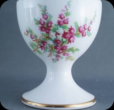 Hammersley Purple & White Flowers with Ferns Pattern 4060 Egg Cup