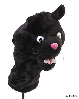 NEW - ANIMAL GOLF CLUB HEAD COVER- BLACK PANTHER -FITS ANY 460cc DRIVER #C6033
