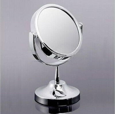 New Makeup Cosmetic Mirror & Double-Sided Normal and Magnifying Stand Mirror TB