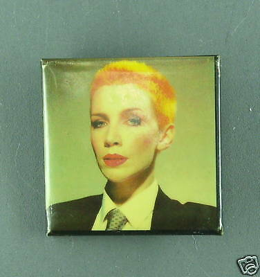 RARE VINTAGE Annie Lennox Eurythmics  BUTTON PIN