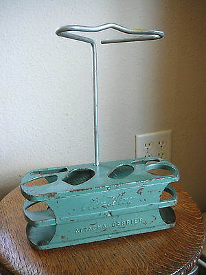 AIR-WAY Vintage VACUUM CLEANER METAL ATTACHMENT HOLDER - ATTACHA-CARRIER -GUC