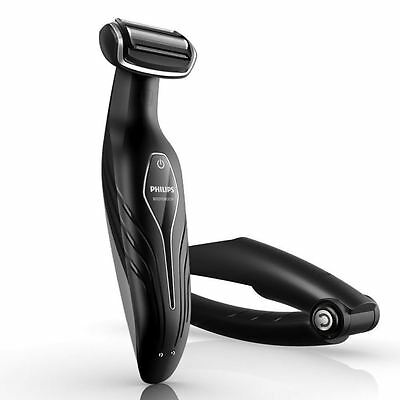 Philips BG2036/32 Body Grooming Shaver Set Chargeable with Back Handle New