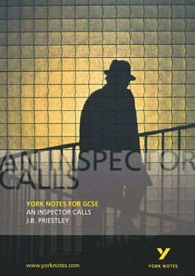 An Inspector Calls (York notes for GCSE) by J. B. Priestly Paperback Book The