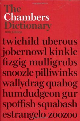 The Chambers Dictionary (10th Ed) by , Chambers Hardback Book The Cheap Fast