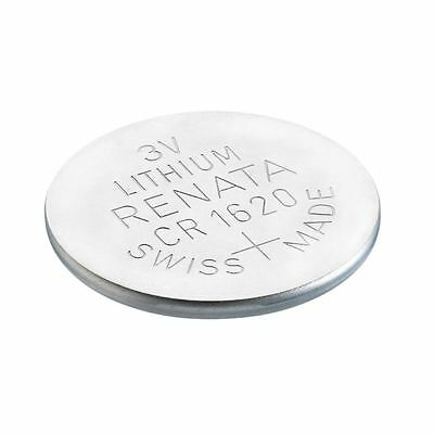 Renata CR1620 Swiss Made 3V Lithium Coin Cell Battery