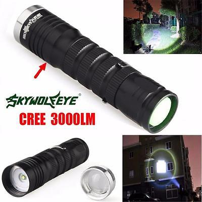 3000 Lumen 3 Modi CREE XML T6 LED 14500 / AA-Taschenlampe Super Bright Light HOT