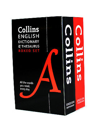 Collins English Dictionary and Thesaurus Set by Collins Dictionaries New