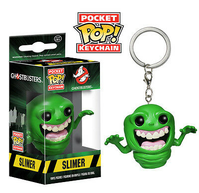 Ghostbusters Slimer Pocket Pop! Keychain