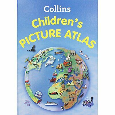 Collins Childrens Picture Atlas Book The Cheap Fast Free Post
