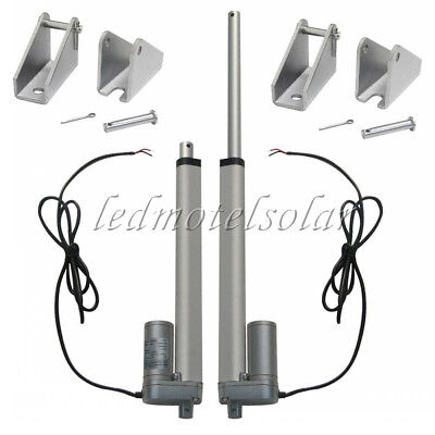 2PCS* Heavy Duty 1500N/150kg 10'' 12V Linear Actuator Electric Motor for Lifting