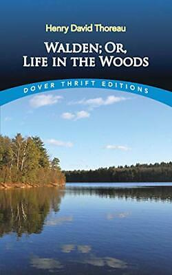 Walden: Or, Life in the Woods (Dover Thrift... by Thoreau, Henry David Paperback