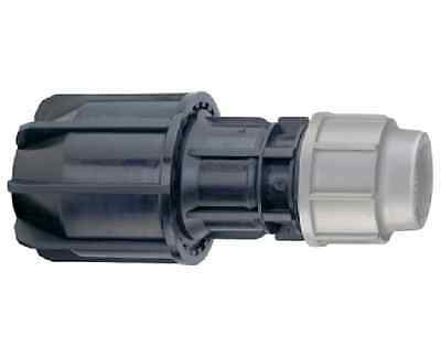 Plasson 25mm x 27mm - 35mm other pipe universal coupling. Plass4 MDPE adaptor