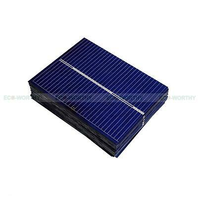 Total 20pc 52x39mm Solar Cell Cells Polycrystalline for DIY Small Panel Gift