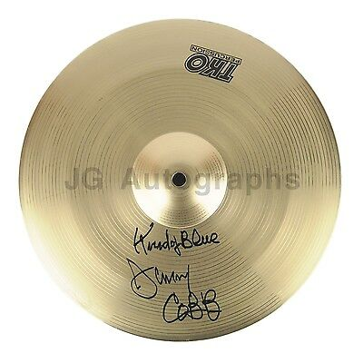 "Jimmy Cobb - Miles Davis' ""Kind of Blue"" Drummer - Autographed Cymbal"