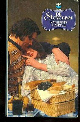 Katherine's Marriage by Stevenson, D. E. Paperback Book The Cheap Fast Free Post