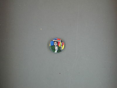 Michael Jackson Vintage  Button Pin