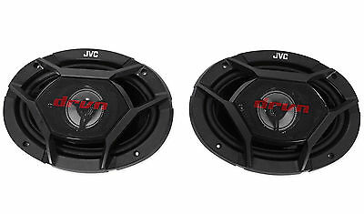"Pair New JVC CS-DR6930 6""X9"" 3-Way 1000 Watt Car Stereo Speakers"