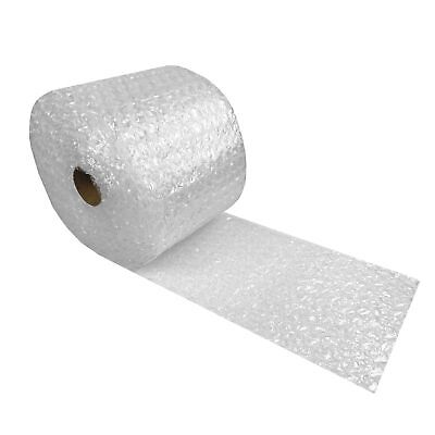 "Bubble Cushioning Wrap Roll 12"" wide x 30' perforated 5/16"" Medium Bubbles"