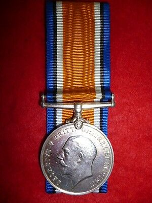 WW1 British War Medal to a Royal Naval Surgeon, Died 1920, buried France