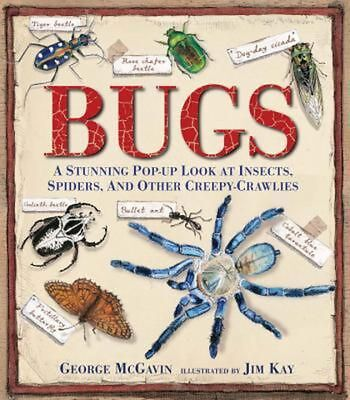 Bugs: A Stunning Pop-Up Look at Insects, Spiders, and Other Creepy-Crawlies by G