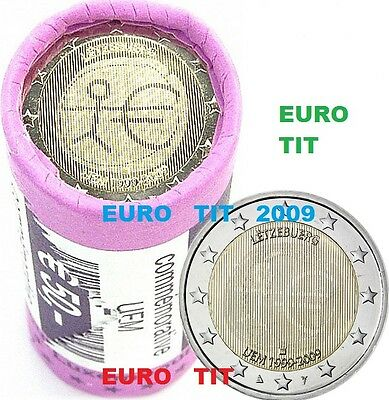 2 €    LUXEMBOURG   COMMEMORATIVE   2009  1   X  PIECE   EMU      disponible