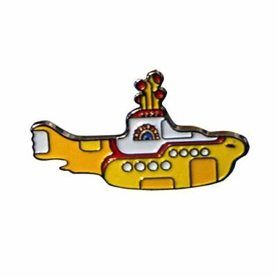 Official The Beatles Yellow Submarine Enamel Metal Keyring Keychain - New Music