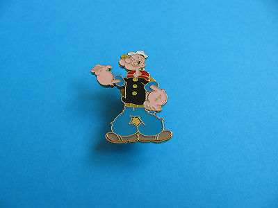 Popeye Character pin badge. VGC. Unused old Stock. Enamel.